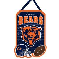 Team Sports America Chicago Bears Door Decor