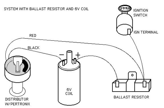 engine and drivetrain no brainer wiring question ballast resistor