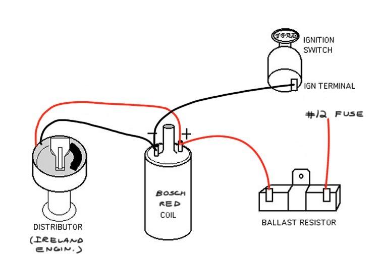 wiring a ballast resistor