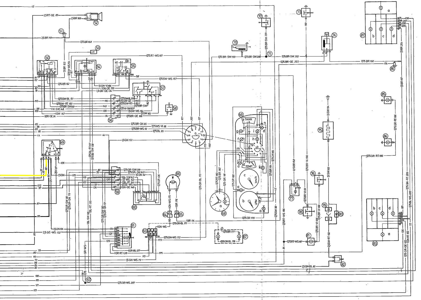 bmw 745i wiring diagrams schematics online BMW 2002 Tii Wiring-Diagram