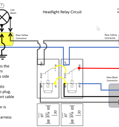 2124753652 headlightrelaycircuitdiagram thumb png b80540c2ec8a15c71a746efbd12c9f99 png h4 headlight relays  [ 3185 x 1791 Pixel ]