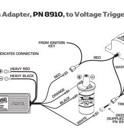 sunpro tach adapter msd tach msd distributor wiring  [ 1667 x 992 Pixel ]