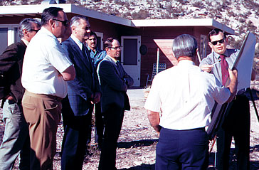 Dead Horse Ranch Legislative tour in 1972
