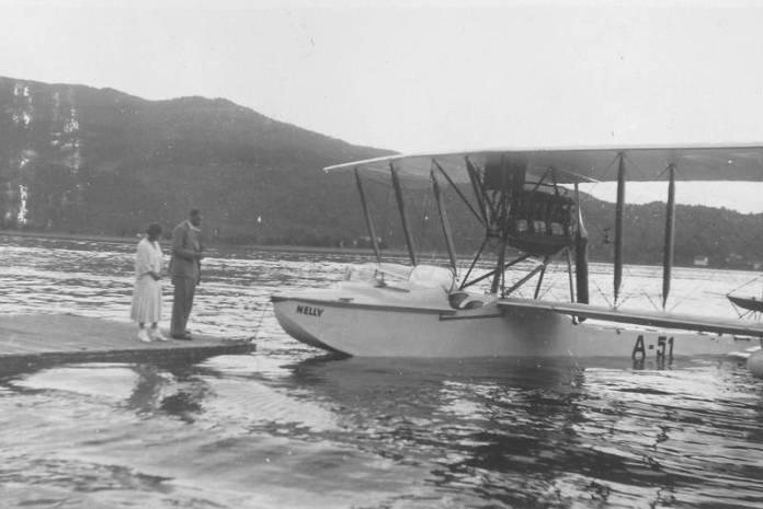 Das Wasserflugzeug Nelly brachte von 1928-1938 viele Sommerfrischler an den schönen Wörthersee.