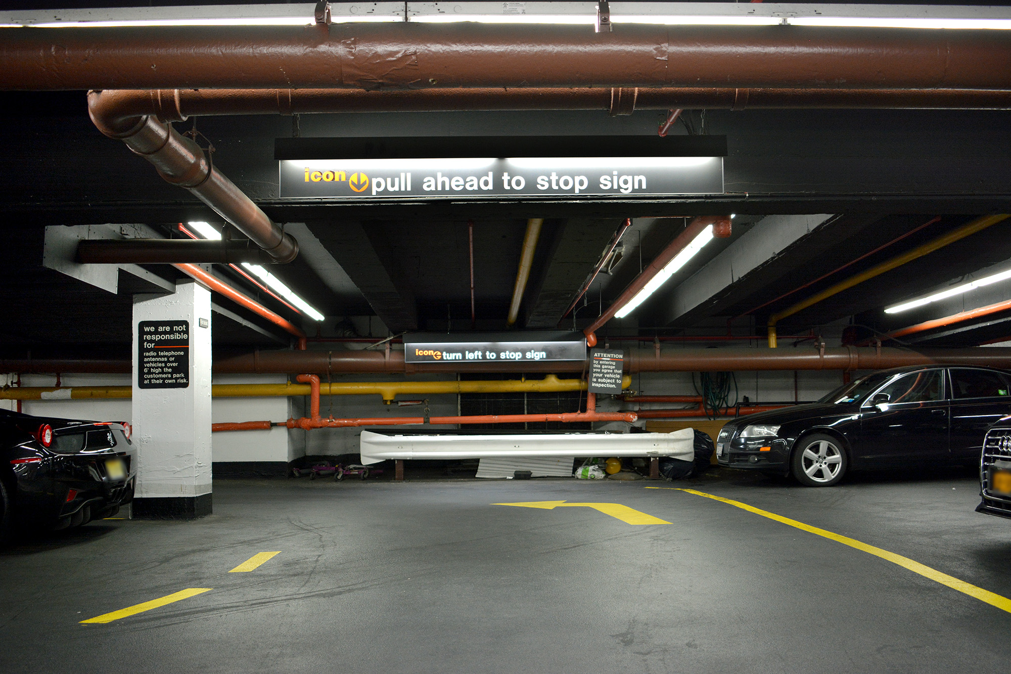 parking near times square