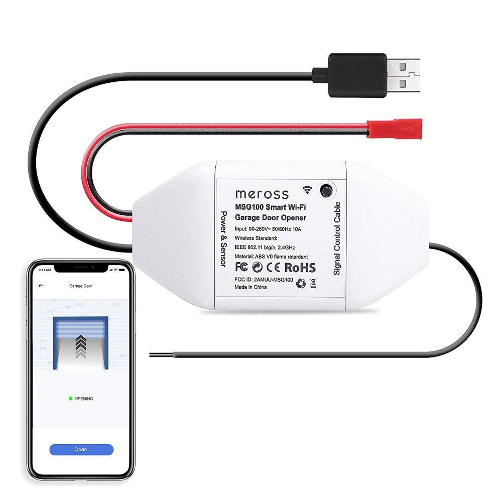 medium resolution of smart wifi garage door opener