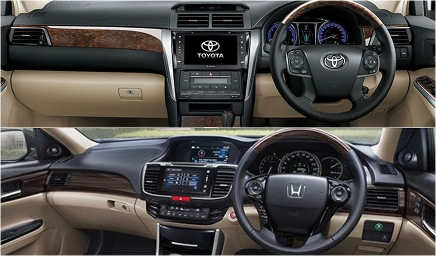 all new camry 2017 indonesia head unit grand veloz 2018 toyota vs honda accord pertarungan sedan eksekutif jepang oto interior dan