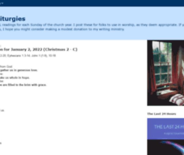 Lectionaryliturgies Blogspot Com News Digest