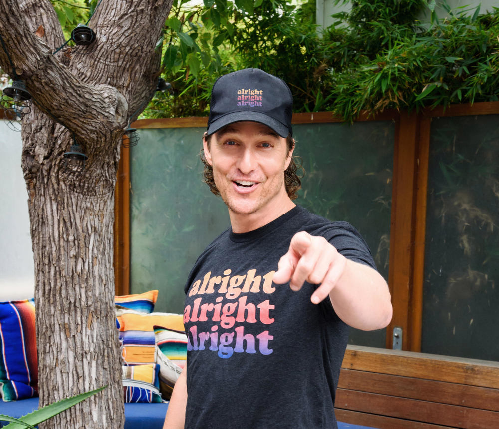 matthew mcconaughey official alright