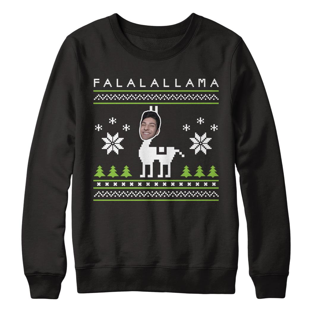 Limited Twaimz Llama Holiday Sweatshirt Represent