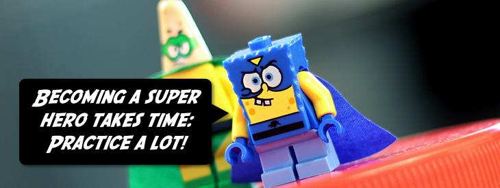 Practice to become a presentation superhero
