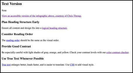 Google cache (partial) of infographic text provided on the image infographic page