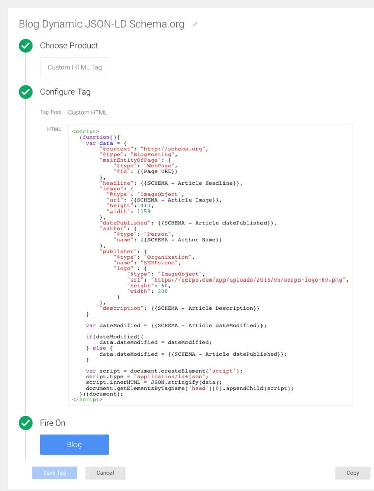 dynamic schema json-ld tag