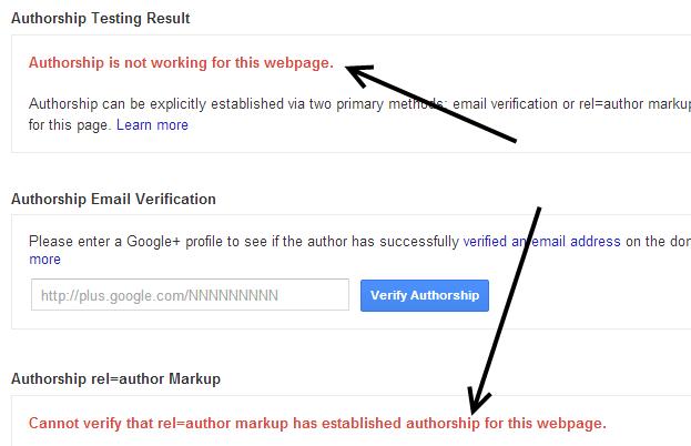 Your Authorship is Broken