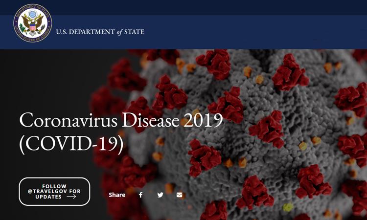Coronavirus Disease 2019 (a State Dept. website) | U.S. Embassy ...