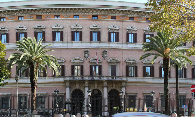 Mission Italy, Embassy to the Holy See, and USUN Rome Change in ...