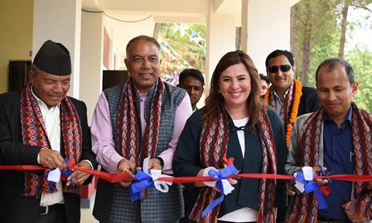 USAID Hands Over Four New Primary Schools in Sindhupalchowk ...