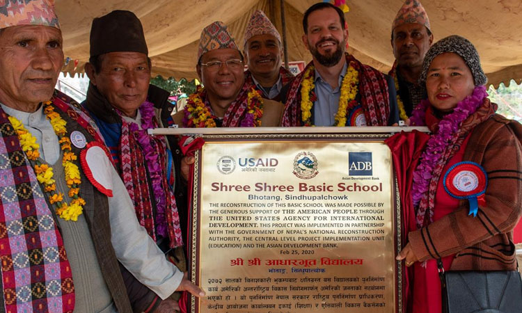 USAID Hands Over Two New Primary Schools in Sindhupalchowk ...