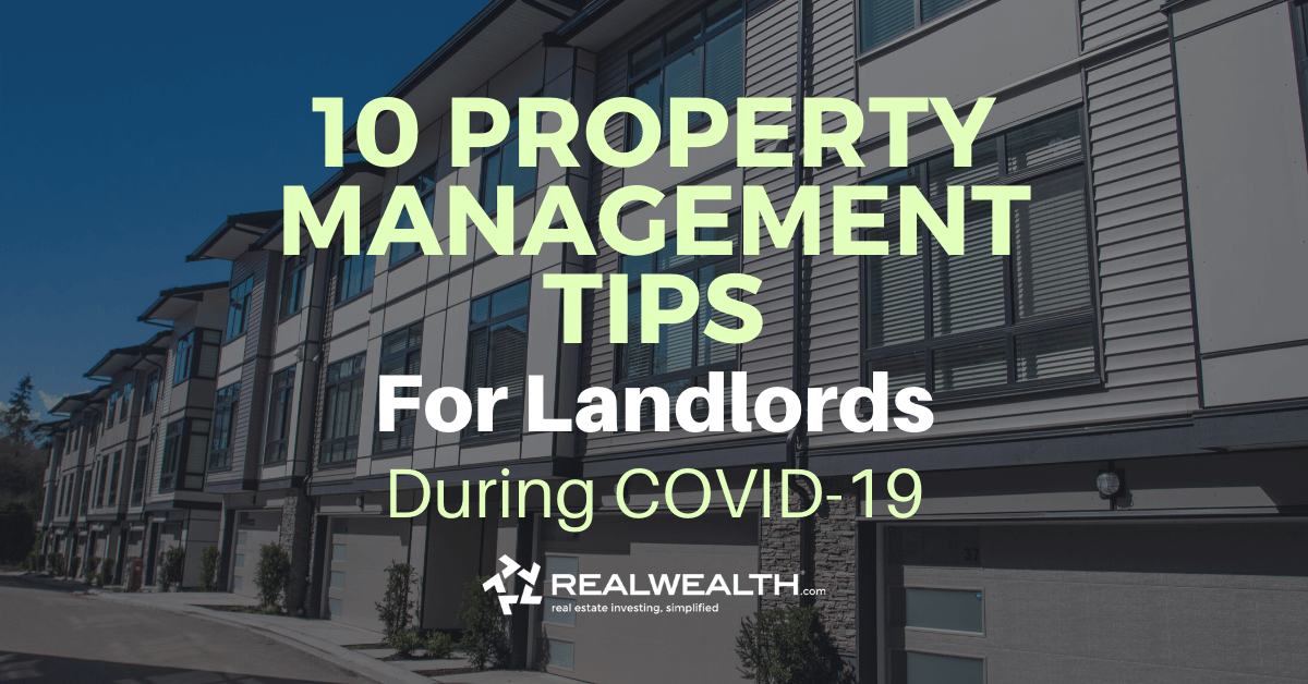 Featured Image for Article - 10 Property Management Tips for Landlords During COVID-19