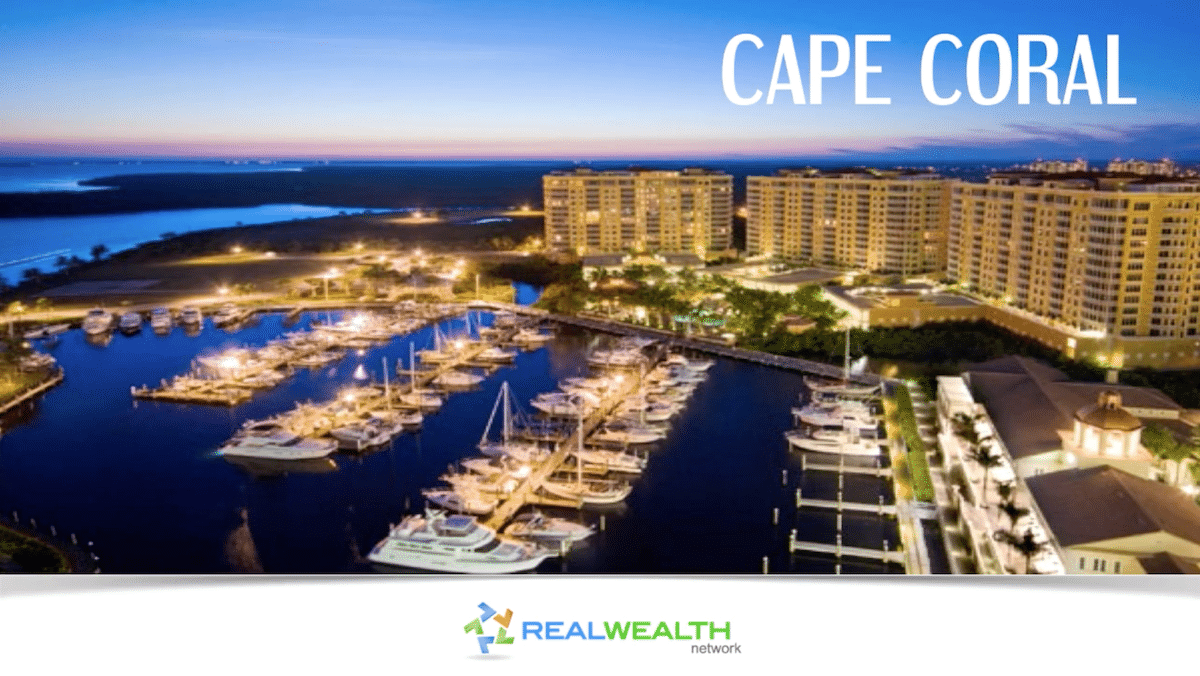 Best Real Estate Markets 2017: Cape Coral