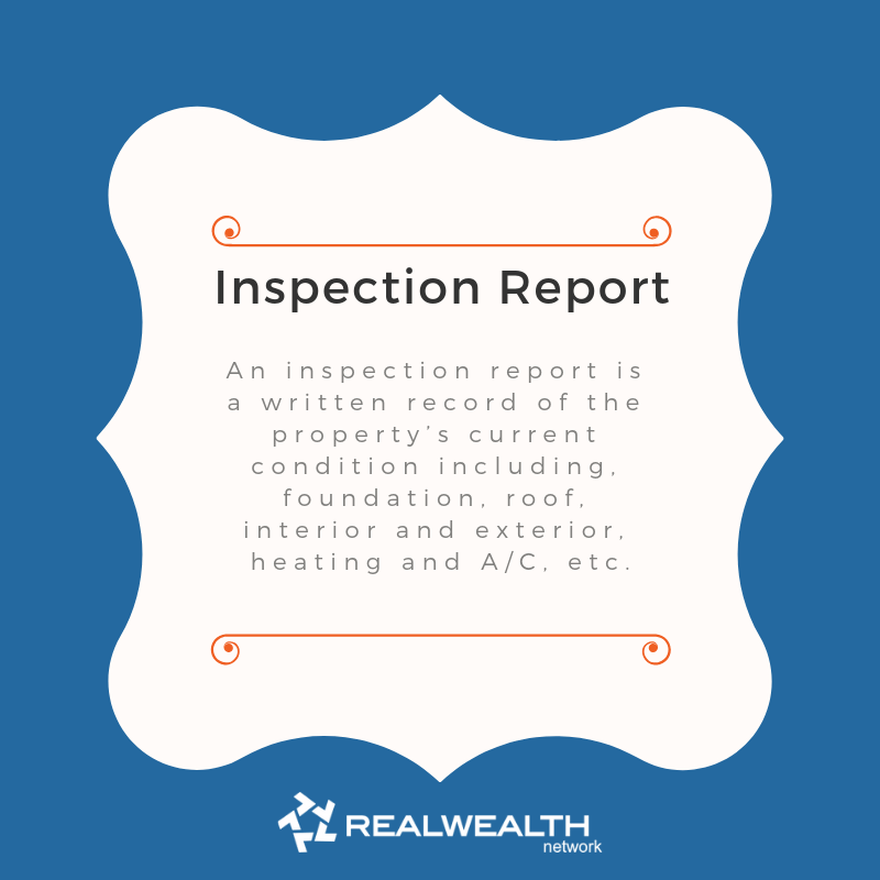 Definition of Inspection Report image