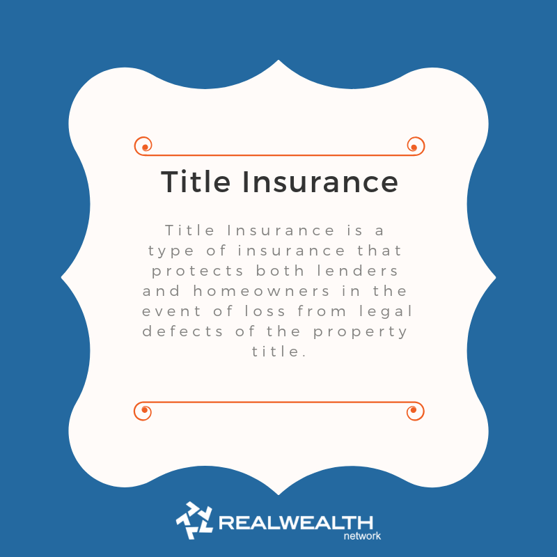 Definition of Title Insurance image