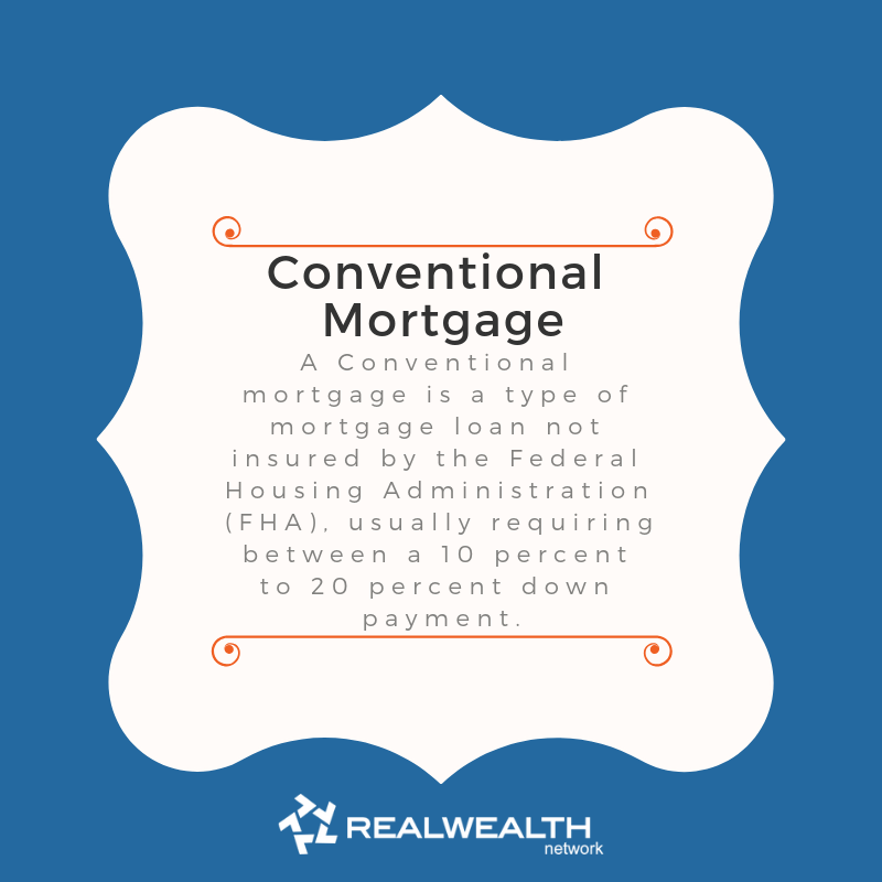 Definition of Conventional Mortgage image