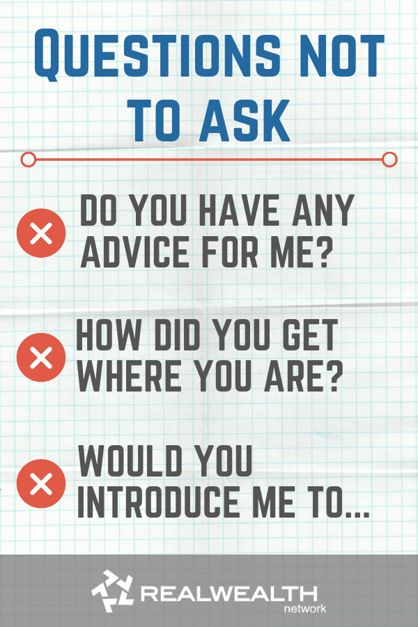 Questions Not to Ask a Mentor image
