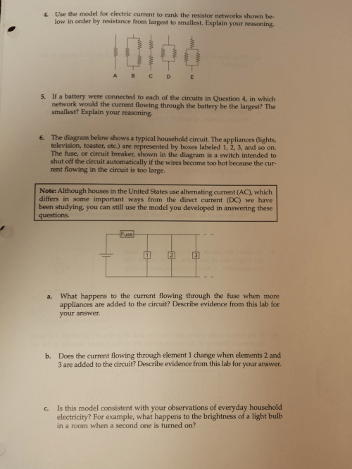 small resolution of use the model for electric current to rank the res