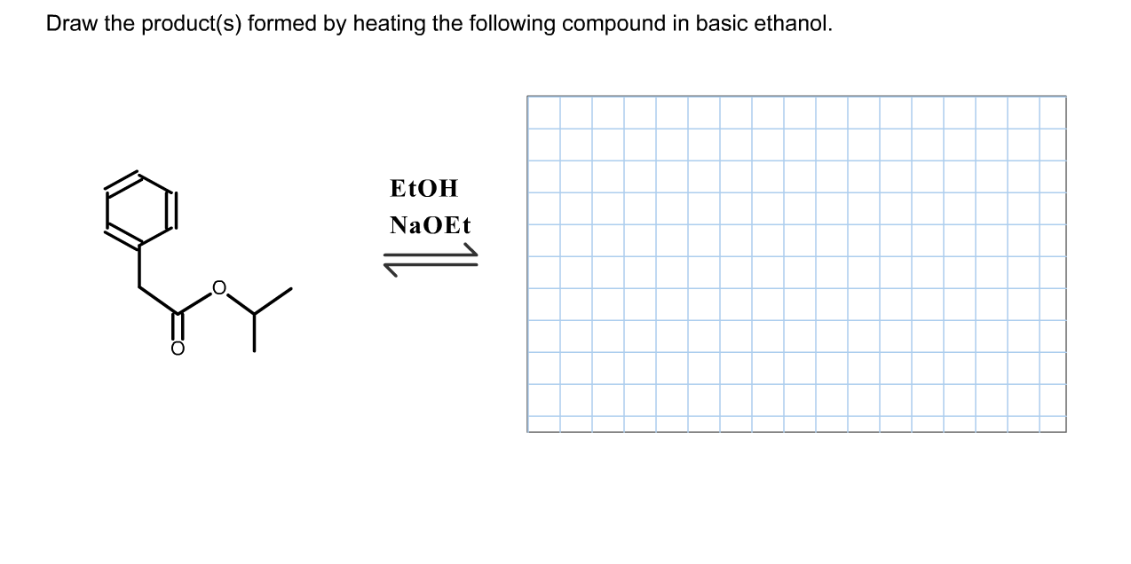 Solved: Draw The Product(s) Formed By Heating The Followin