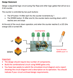 design statement design a sequential logic circuit using flip flops and other logic gates [ 968 x 1024 Pixel ]