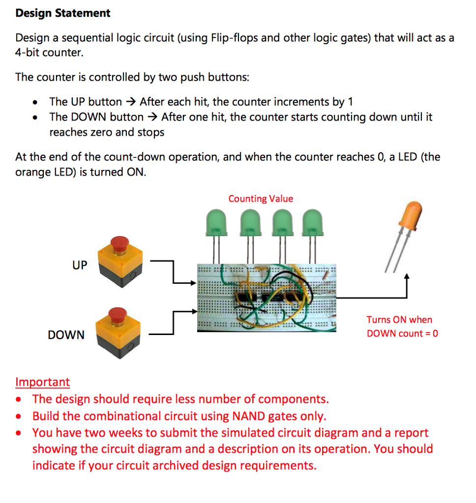 hight resolution of design statement design a sequential logic circuit using flip flops and other logic gates