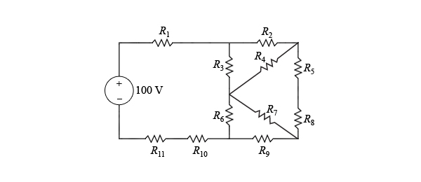 Solved: Delta-to-Wye Equivalent Circuit Analysis Learning