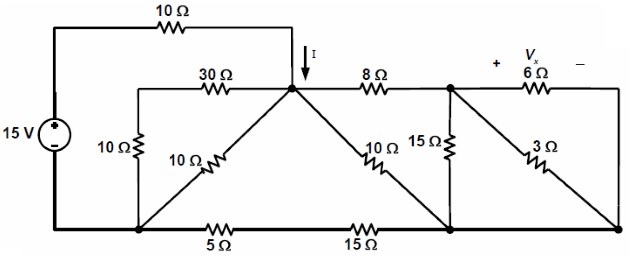 Solved: For The Circuit Show, Use The Principles Of Equiva