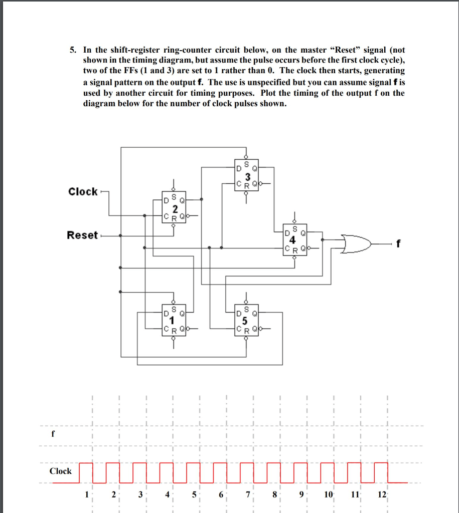 hight resolution of in the shift register ring counter circuit below on the master