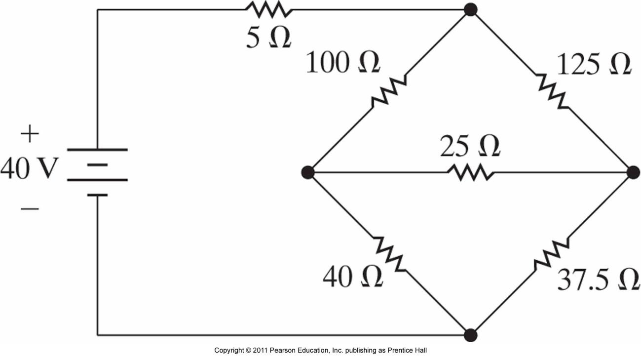 Solved: Use Delta-wye Conversion To Simplify The Resistor