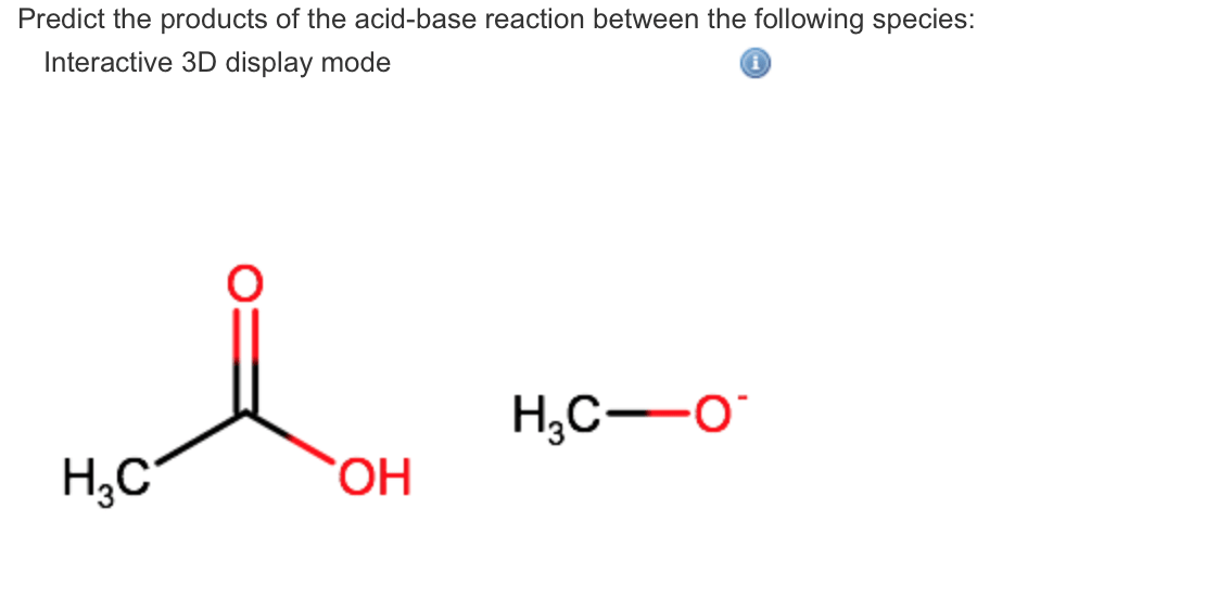 Solved: Predict The Products Of The Acid-base Reaction Bet