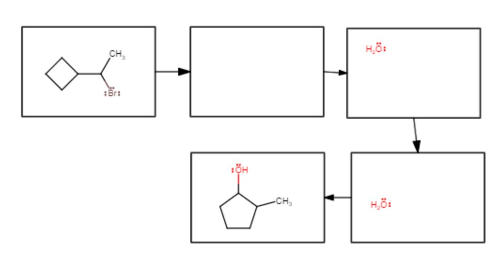 Solved: Draw A Reasonable Mechanism For This Reaction