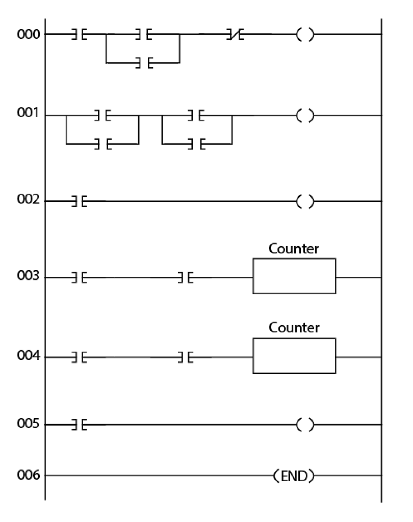 hight resolution of solved plc programming plc is used to operate a parking rh chegg com lift master garage door opener wiring diagram genie garage door wiring diagram