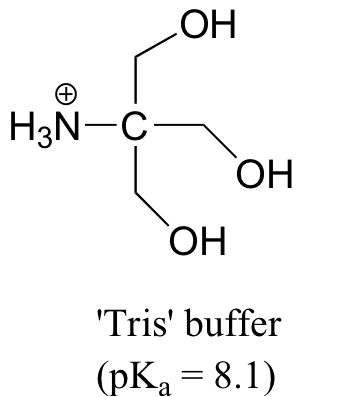 Solved: Aqueous Solution Of 'Tris' Is Very Commonly Used A