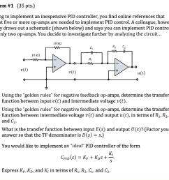 problem 1 35 pts looking to implement an inexpensive pid controller you [ 1024 x 826 Pixel ]