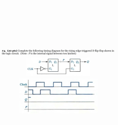 see more show transcribed image text complete the following timing diagram for the rising edge triggered d flip flop shown in the logic circuit  [ 1756 x 2500 Pixel ]