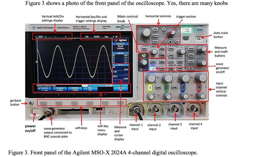 medium resolution of need help with these simple lab questions the oscilloscope used is shown above