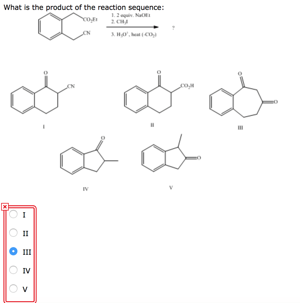 Solved: What Would Be The Product, C, Of The Following Rea