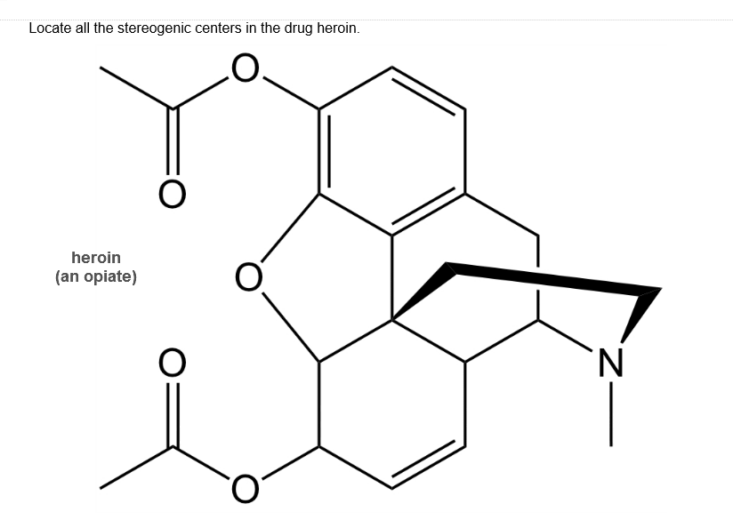 Solved: Locate All The Stereogenic Centers In The Drug Her