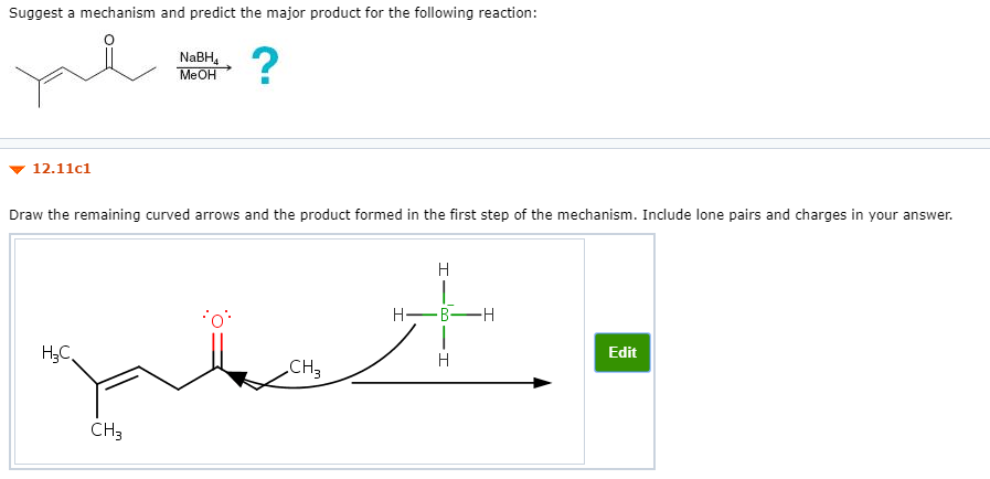 Solved: Suggest A Mechanism And Predict The Major Product