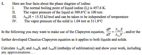 small resolution of here are four facts about the phase diagram of iod