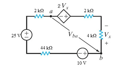 Solved: The 10-V Source Absorbs 2.5 MW Of Power. Calculate