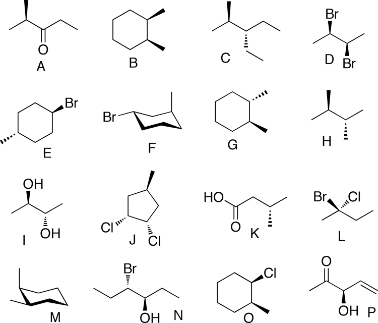 Solved: Help With Chiral Centers And Optical Activity? Whi