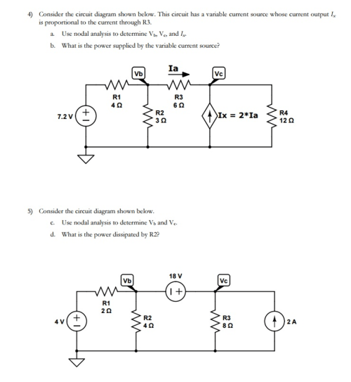 small resolution of consider the circuit diagram shown below this cir